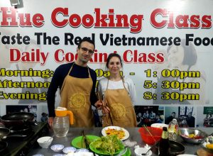 Hue vegetarian cooking class. Vegetarian Hue food