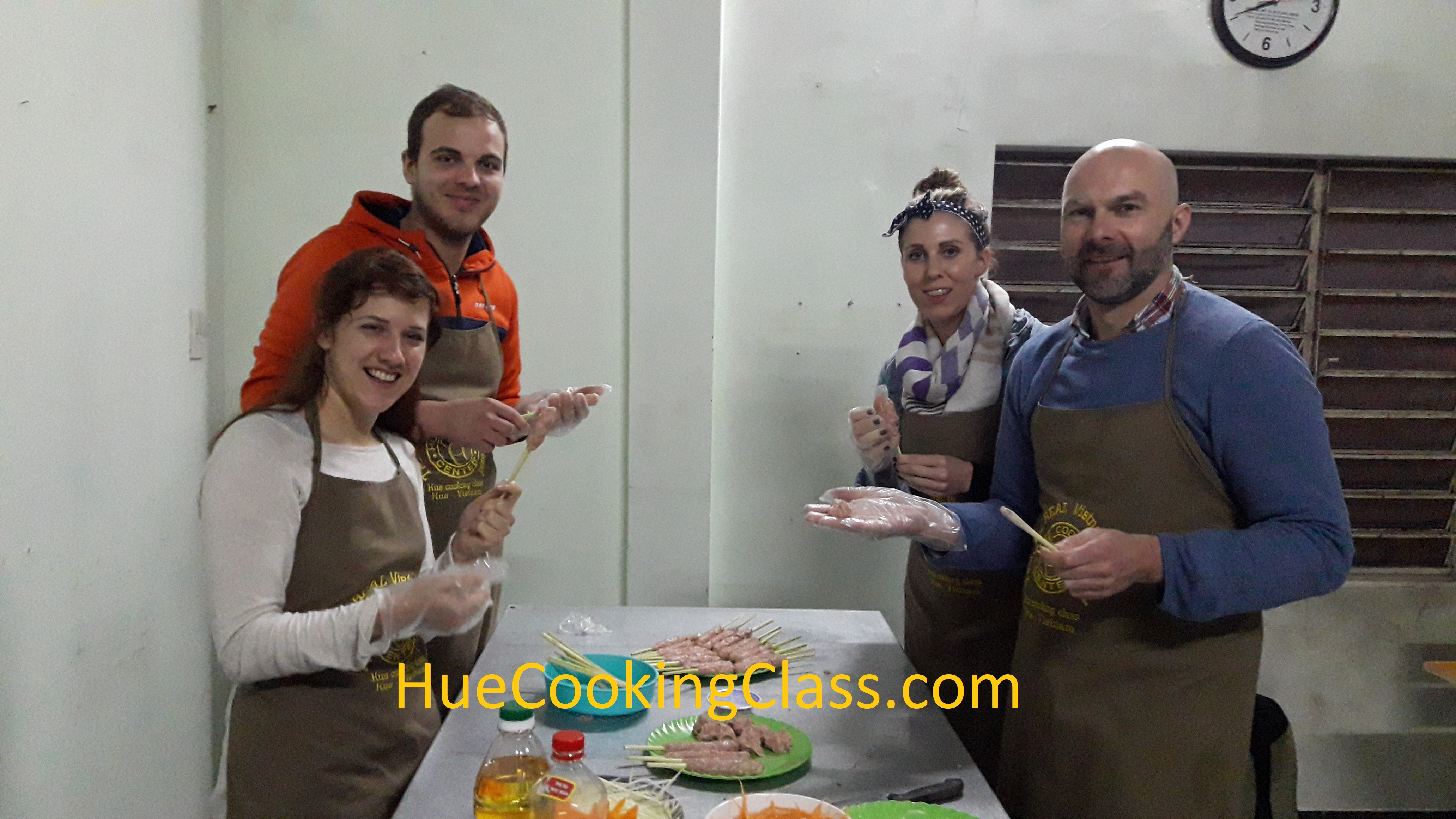 Hue Cooking Course