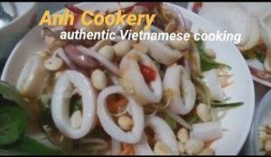 Vietnamese squid salad recipe