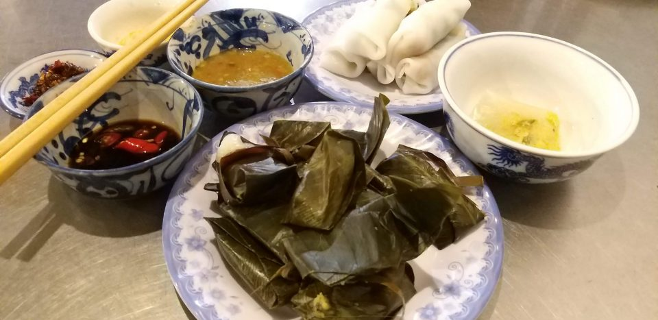 Vietnamese vegetarian food tour