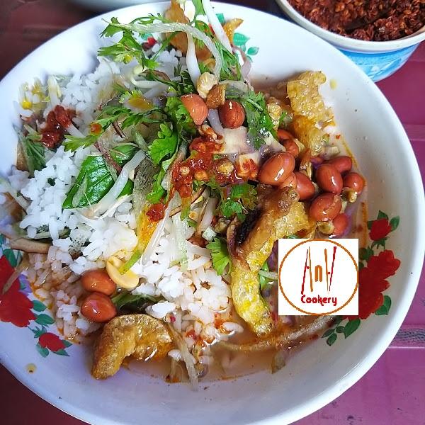 com hen - Hue clam rice