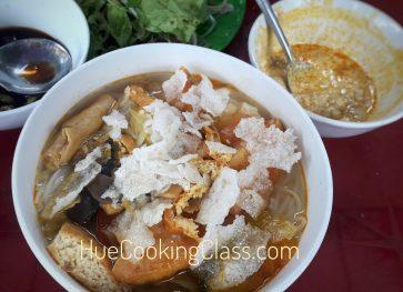 Hue Vegetarian Food Tour