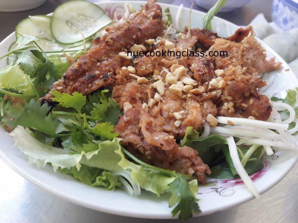 Hue grilled pork noodle-Hue Food blog