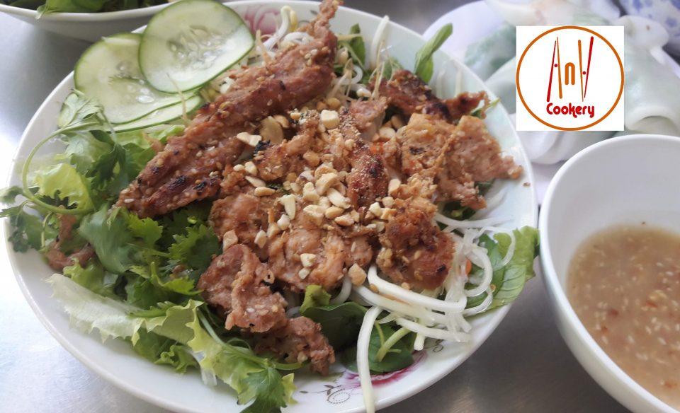hue bbq pork noodle